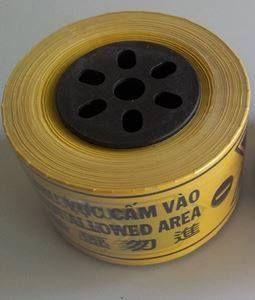 Cuộn rào công trình 2 lớp (màu vàng)