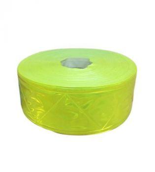 Dây phản quang nhựa 5cm vàng chanh - BHK0020 giá rẻ