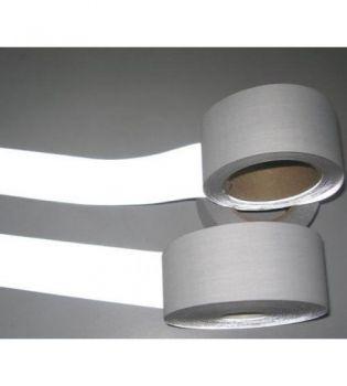 Dây vải phản quang 5cm ghi loại 1 - BHK0021 chất lượng cao