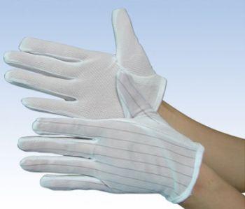 Găng tay chống tĩnh điện dệt kim có hạt