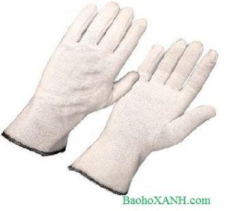 Găng tay chống tĩnh điện dệt kim màu trắng - GDK0006