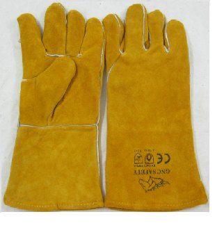 Găng tay da loại dài 2 lớp Đài Loan