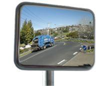 Gương Cầu Lồi Acrylic Ngoài Trời Chữ Nhật - AGT0093