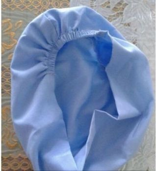Mũ Trùm Đầu Vải Kate Không Vành - MTD0017