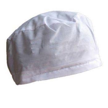 mũ trùm đầu y tế trắng MTD0008