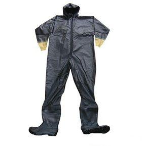 Quần áo bảo hộ lao động liền quần chống Axit