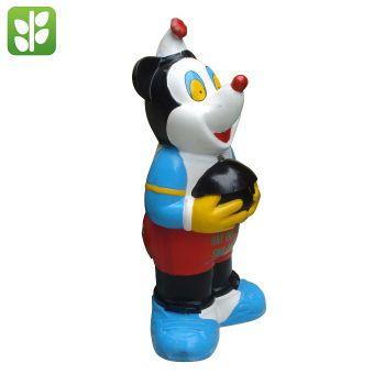 Thùng Rác Nhựa Composite Hình Chuột Mickey - TRA0018