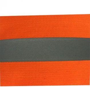 Vải phản quang 5cm pha màu cam - BHK0024 giá rẻ