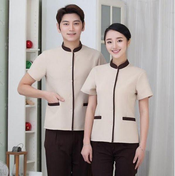 Đồng phục khách sạn cao cấp cho nhân viên buồng phòng