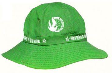Mũ tai bèo xanh lá cây bền đẹp
