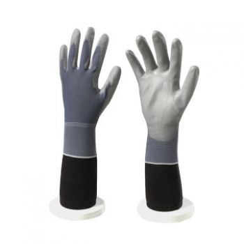 Găng tay phủ PU lòng xám bàn tay - GDK0010