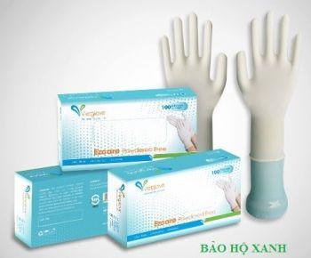 Găng tay cao su tự nhiên không có bột
