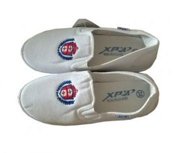 Giày lười vải XP màu trắng