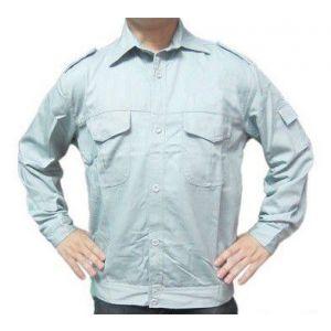 Áo Bảo Hộ Lao Động Kaki Cotton Nhật Nhiều Màu - ABH0006