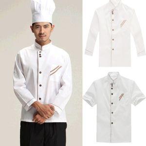 Áo Bếp Nam Nhà Hàng Viền Đẹp - DDB0024
