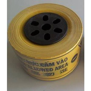 Cuộn Rào Công Trình 2 Lớp (Màu Vàng) - AGT0030