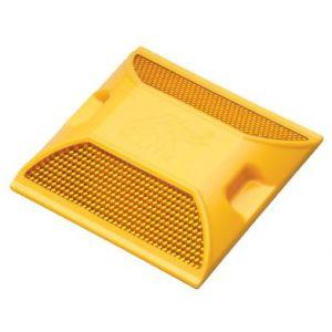 Đinh Nhựa YDM Gắn Mặt Đường Màu Vàng Nổi Bật (2 Mặt) - AGT0069