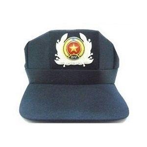 Mũ Lưỡi Trai Bảo Vệ Dân Phòng Màu Xanh Có Logo - MLT0002